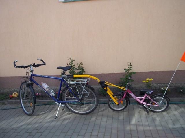 Eladó útánfutó  bringaátalakitó