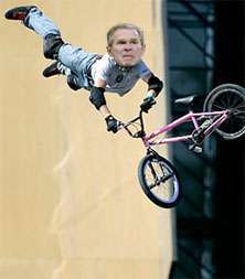 bush is bmx-ezik